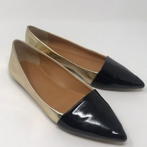 J. Crew pointed flats